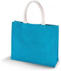 Sacosa iuta Kimood turquoise