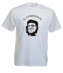 Tricou alb imprimat EL CIOBANDANDE