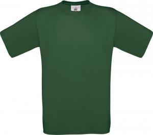 Tricou B&C Exact 150 verde inchis