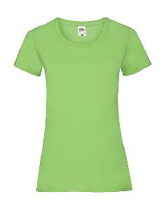 Tricou Dama, Fruit of the Loom, verde lime