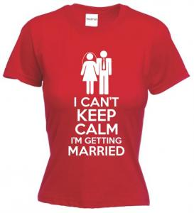 Tricou dama imprimat I'm Getting Married