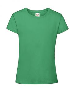 Tricou Fete Fruit of the Loom verde