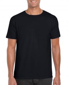 Tricou Gildan Softstyle negru