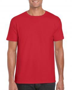 Tricou Gildan Softstyle rosu