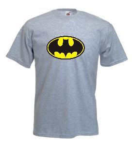 Tricou gri imprimat Batman