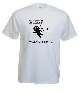 Tricou imprimat Be Mine Valentine's Day