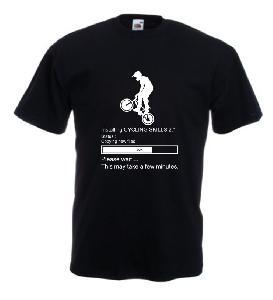 Tricou imprimat Cycling Skills