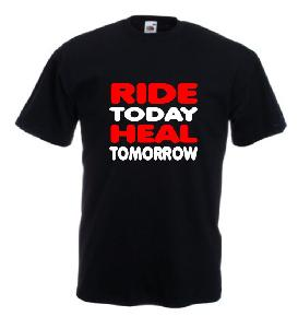 Tricou imprimat Ride Heal