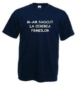 Tricou navy imprimat Cerere