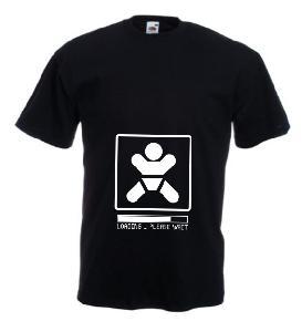Tricou negru gravide imprimat Loading 3