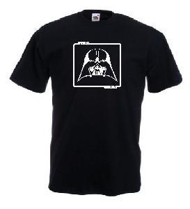 Tricou negru, imprimat Darth Vader Star Wars