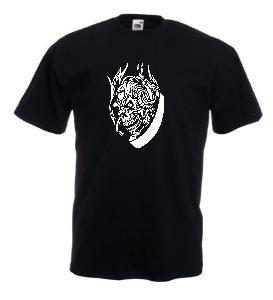 Tricou negru imprimat DJ 2