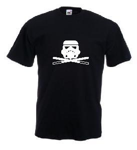Tricou negru, imprimat Pirate Stormtroopers