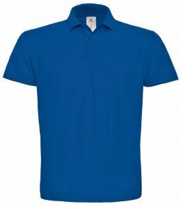 Tricou Polo B&C ID.001 albastru