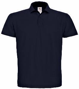 Tricou Polo B&C ID.001 bleumarin