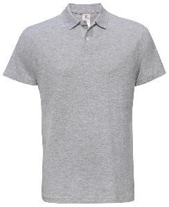 Tricou Polo B&C ID.001 heather grey