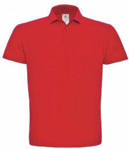Tricou Polo B&C ID.001 rosu