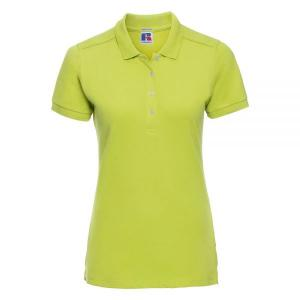 Tricou Polo Damă, Russell Stretch, Lime - S