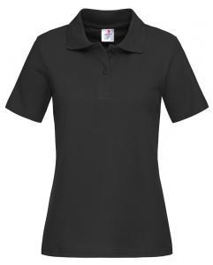 Tricouri polo dama Stedman negru