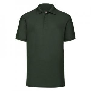 Tricou Polo Fruit Of the Loom 65/35 verde