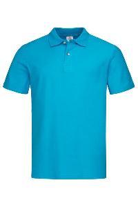 Tricou polo Stedman ocean blue
