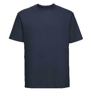 Tricou Russell 180, bleumarin