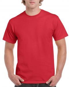 Tricou Ultra Cotton, Gildan, Rosu